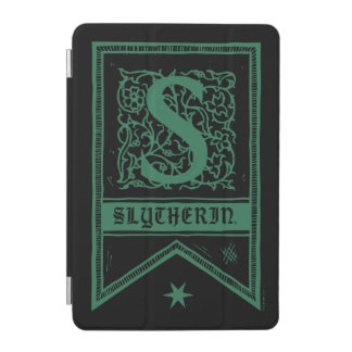 Harry Potter | Slytherin Monogram Banner iPad Mini Cover