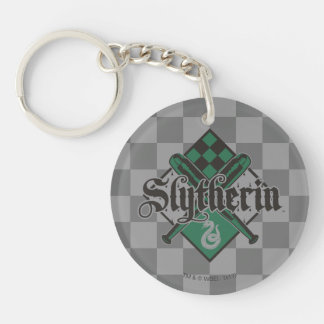 Harry Potter | Slytherin QUIDDITCH™ Crest Double-Sided Round Acrylic Key Ring