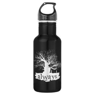 Harry Potter Spell | Always Quote Silhouette 532 Ml Water Bottle