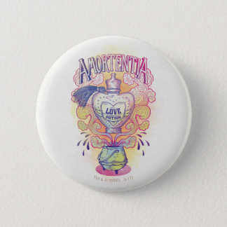 Harry Potter Spell | Amortentia Love Potion Bottle 6 Cm Round Badge
