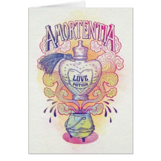 Harry Potter Spell | Amortentia Love Potion Bottle Card