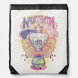 Harry Potter Spell | Amortentia Love Potion Bottle Drawstring Bag