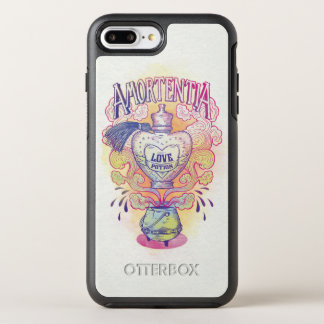 Harry Potter Spell | Amortentia Love Potion Bottle OtterBox Symmetry iPhone 8 Plus/7 Plus Case