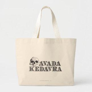 Harry Potter Spell | Avada Kedavra Large Tote Bag