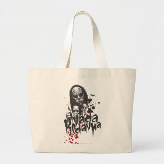 Harry Potter Spell | Death Eater Avada Kedavra Large Tote Bag