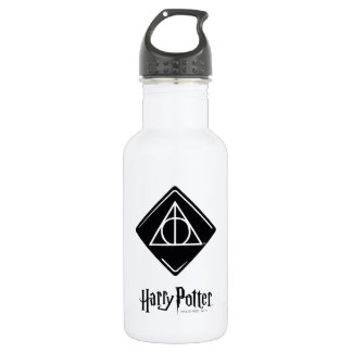 Harry Potter Spell   Deathly Hallows Icon 532 Ml Water Bottle