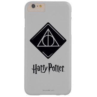 Harry Potter Spell | Deathly Hallows Icon Barely There iPhone 6 Plus Case