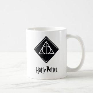 Harry Potter Spell | Deathly Hallows Icon Coffee Mug