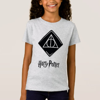 Harry Potter Spell | Deathly Hallows Icon T-Shirt