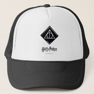 Harry Potter Spell | Deathly Hallows Icon Trucker Hat