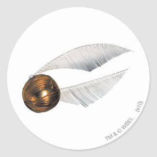 Harry Potter Spell | Golden Snitch Classic Round Sticker