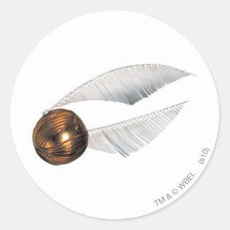 Harry Potter Spell | Golden Snitch Round Sticker