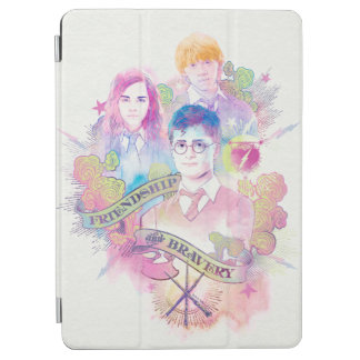 Harry Potter Spell | Harry, Hermione, & Ron Waterc iPad Air Cover