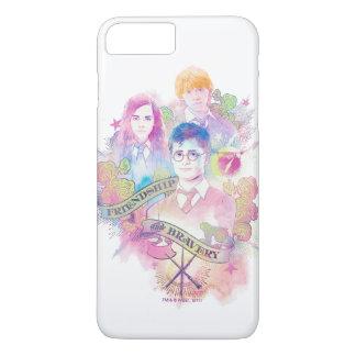 Harry Potter Spell | Harry, Hermione, & Ron Waterc iPhone 8 Plus/7 Plus Case