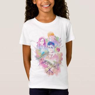 Harry Potter Spell | Harry, Hermione, & Ron Waterc T-Shirt