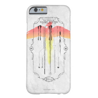 Harry Potter Spell | Harry's Wand Infographic Barely There iPhone 6 Case