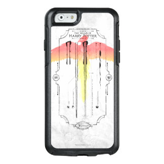 Harry Potter Spell | Harry's Wand Infographic OtterBox iPhone 6/6s Case