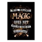 Harry Potter Spell | Just Because You're Allowed T Card