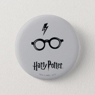 Harry Potter Spell | Lightning Scar and Glasses 6 Cm Round Badge