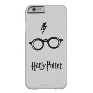 Harry Potter Spell | Lightning Scar and Glasses Barely There iPhone 6 Case