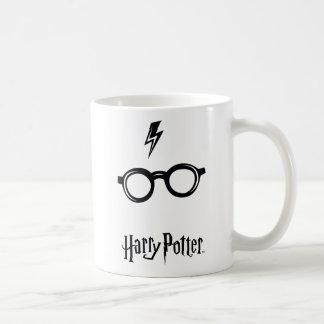 Harry Potter Spell | Lightning Scar and Glasses Coffee Mug