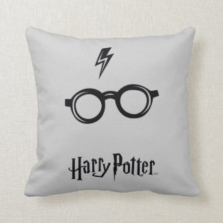 Harry Potter Spell | Lightning Scar and Glasses Cushion