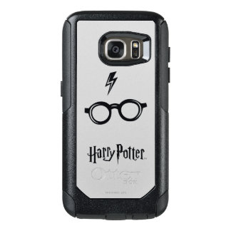 Harry Potter Spell | Lightning Scar and Glasses OtterBox Samsung Galaxy S7 Case
