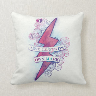 Harry Potter Spell | Love Leaves Its Own Mark Cushion