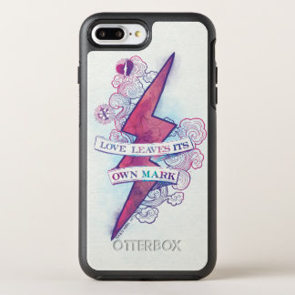 Harry Potter Spell | Love Leaves Its Own Mark OtterBox Symmetry iPhone 8 Plus/7 Plus Case