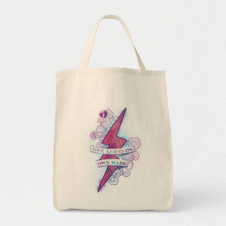 Harry Potter Spell | Love Leaves Its Own Mark Tote Bag