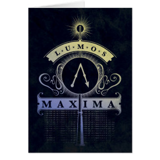 Harry Potter Spell | Lumos Maxima Graphic Card