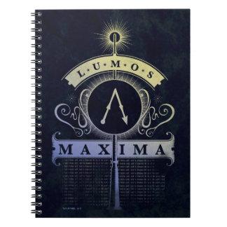 Harry Potter Spell | Lumos Maxima Graphic Notebooks