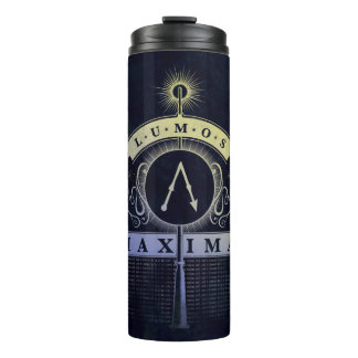 Harry Potter Spell | Lumos Maxima Graphic Thermal Tumbler