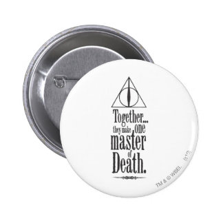 Harry Potter Spell | Master of Death 6 Cm Round Badge