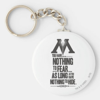 Harry Potter Spell | Ministry of Magic Propaganda Key Ring