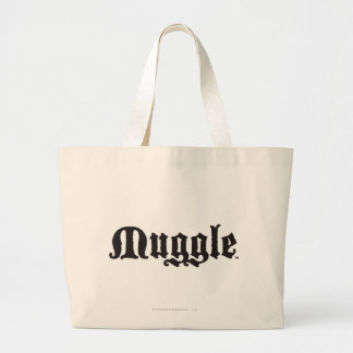 Harry Potter Spell | Muggle Large Tote Bag