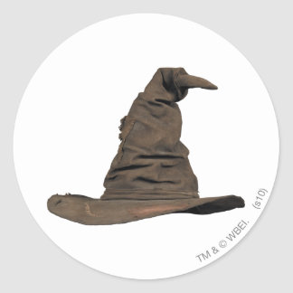 Harry Potter Spell | Sorting Hat Round Sticker