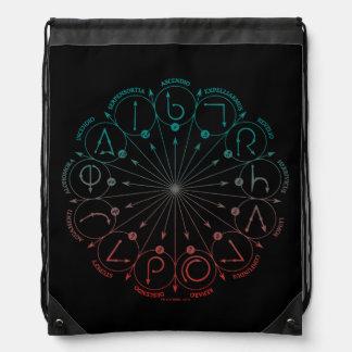 Harry Potter Spell | Spells & Charms Instruction C Drawstring Bag