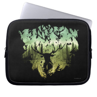 Harry Potter Spell | Stag Patronus Laptop Sleeve