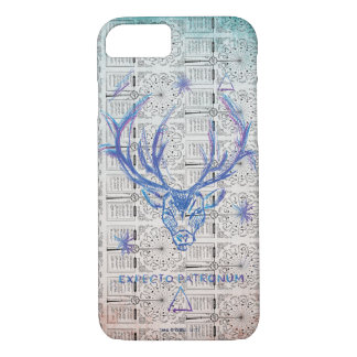 Harry Potter Spell   Stag Patronus Sketch iPhone 8/7 Case