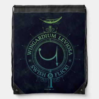 Harry Potter Spell | Wingardium Leviosa Graphic Drawstring Bag