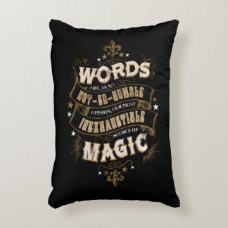 Harry Potter Spell | Words Are Our Most Inexhausti Decorative Cushion