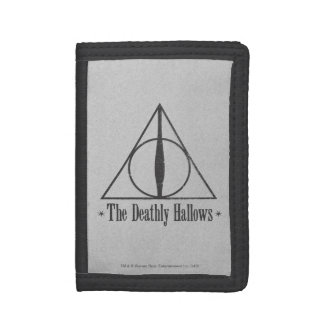 Harry Potter | The Deathly Hallows Emblem Trifold Wallets