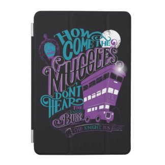 Harry Potter | The Knight Bus Typography Graphic iPad Mini Cover
