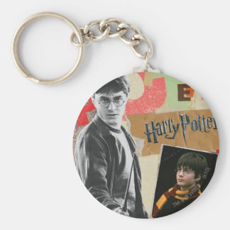Harry Potter Then and Now Key Ring