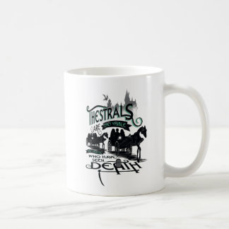 Harry Potter | Thestrals Typography Graphic Coffee Mug