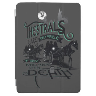 Harry Potter | Thestrals Typography Graphic iPad Air Cover