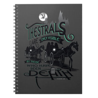Harry Potter | Thestrals Typography Graphic Notebooks