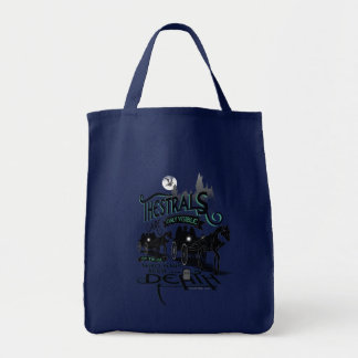 Harry Potter | Thestrals Typography Graphic Tote Bag