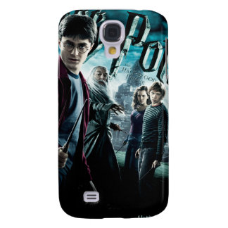Harry Potter With Dumbledore Ron and Hermione 1 Galaxy S4 Cover